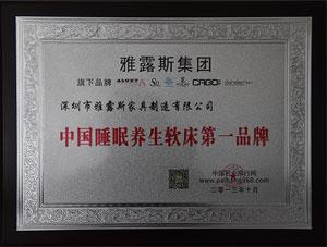 中国睡眠养生软床第一品牌